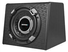 "Autotek SSW110A 600 Watt Powered Loaded 10"" Subwoofer Car Audio Sub+Enclosure"