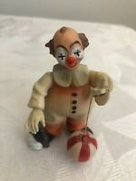 anri clown vintage 4 inch Italian collectable