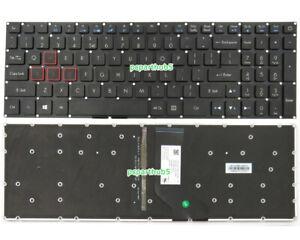 New Acer Predator Helios 300 G3-571 G3-572 PH315-51 PH317-51 Keyboard US Backlit