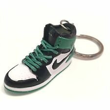 mini sneaker Air Jordan 1 3D Keychain Retro GREEN BLACK 1:6 MICHAEL 05-31