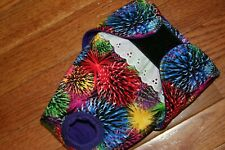 Female dog diaper-panties-QUILTED-Washable- FIREWORKS by angelpuppi