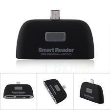 Micro USB OTG Hub Multi Memory SD TF Card Reader Adapter For Samsung iPhone BT