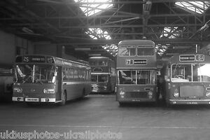 Eastern National Southend Depot 1974 Bus Photo