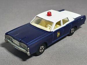 Professional Restoration: Matchbox No55 Mercury Code3 Kansas State patrol car