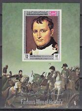 Yemen KGr 1969 ** bl.173 pinturas pinturas Napoleón