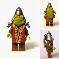 Custom Boss Nass Mini Figure - Gungan Sub Queen Amidala 9499 On Lego Bricks