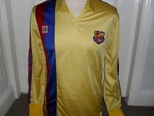 BARCELONA 1984 - 89 Away Long Sleeved Shirt (Mint)