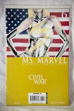 Ms. Marvel Marvel ComicIssue #6 - Civil War