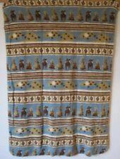 "Vintage Woolrich Soft Throw Blanket Cabin Lodge Moose 50"" x 68"""