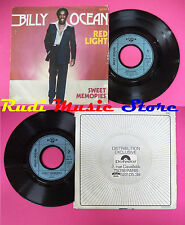 LP 45 7'' BILLY OCEAN Red light Sweet memories 1977 france GTO 1977 no cd mc dvd