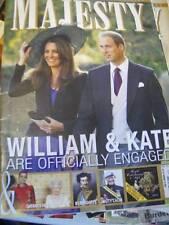 Majesty Magazine V31 #12 William & Kate Engagement, Sandringham Royal Physicians