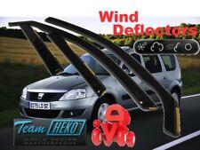 DACIA Logan I  MCV 2007 - 2013 WAGON / COMBI 5.doors Wind deflectors HEKO 13104
