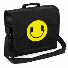 Smiley Auriculares Record Bag-audiófilo Vinilo Lp Dj, Regalo De Navidad le Papá