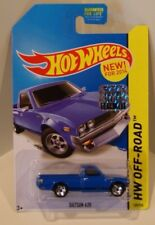 1972 Datsun 620 Pickup Hot Wheels 2014 HW Off-Road KMART BLUE VHTF MASTER SET