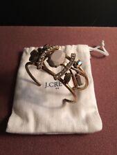 J. CREW muted gold tone sparkly bracelet. Cuff