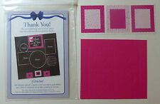 Creative Memories Die-Cut+Aufkleber Herzen in Pink NEU/OVP/RAR