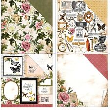 Kaisercraft Treasured Moments 1xScrappapier verschiedene Motive 30,5x30,5cm