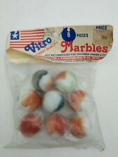 8 Vitro Agate marbles factory sealed