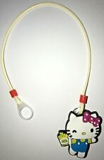 Hearing Aid safety Leash, RETAINER CORD CLIP - 1 Sided (Yellow Kitty)