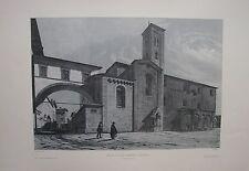 1973 EGLISE DE SAN ROMANO A LUCCA  A. Durand