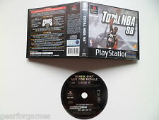 Sony Ps1 Playstation 1 Pal Juego total Nba 98 Blockbuster probado en la consola