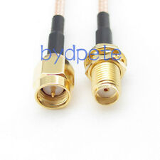 20inch RG316 SMA male plug to SMA female jack RF Pigtail Coax Jumper Cable 50cm