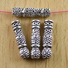 10pcs Tibetan silver vase Spacer Beads Findings h0360