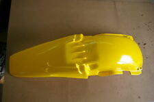 POLISPORT REAR FENDER  YAMAHA YZ250 YZ125 1996 97 98 99 2000 2001 YELLOW