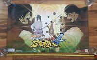 Naruto Shippuden Ultimate Ninja Storm 4 Pre-Order Poster 2016 Bandai Namco PS4