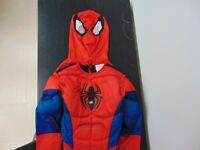 """RARE! Child's """"Spiderman"""" Costume Hand Signed By Stan Lee PAAS COA"""