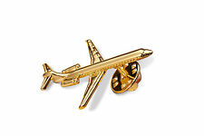 A Brand New McDonnell Douglas Md80 Dc9 18k Gold Plated Necktie Tie Pin Badge