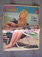 TV SORRISI e CANZONI # 33 - 14 AGOSTO 1960 - BRIGITTE BARDOT