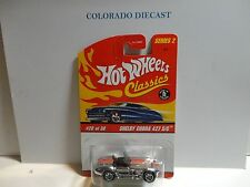 Hot Wheels Classics Series 2  #20 Chrome Shelby Cobra 427 S/C
