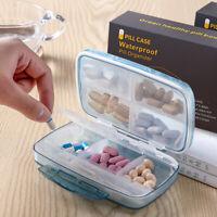 8 Fächer Pillendose 7 Tage Pillenbox Pillenturm Tablettenbox Medikamentenbox