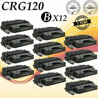 12 pk Black Toner for Canon 120 2617B001AA ImageClass D1320 D1350 D1370 D1120