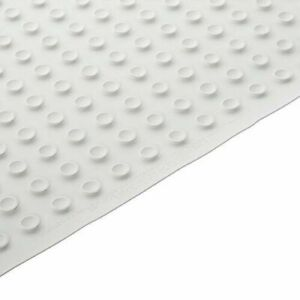"RUBBERMAID EX LARGE WHITE BATH MAT W/SUCTION CUPS 36"" x 18"" NEW 1982729"