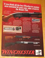 Vintage Winchester Model 1300 Shotgun Original Magazine Advertisement