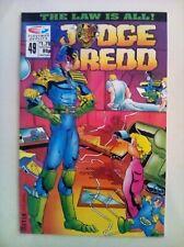 Judge Dredd (Quality) Vol 2 #49 - Comic – used Excellent condition