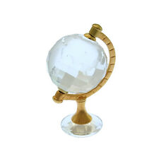 SWAROVSKI ornament clear Gold Woman Authentic Used N149