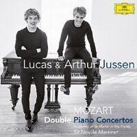 LUCAS JUSSEN/JUSSEN,ARTHUR/MARRINER/+  - MOZART DOUBLE PIANO CONCERTOS  CD NEU
