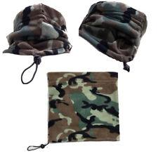Unisex Esercito in Pile Termica Scalacollo Maschera basso di lenza Sciarpa motociclisti, Walkers