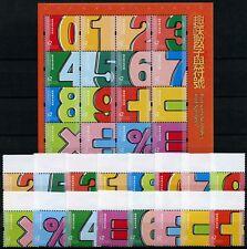 Hongkong 2018 Nummern und Symbole Numbers and Symbols Postfrisch MNH