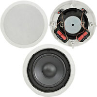 "QUALITY 8"" 160W Ceiling/Roof Subwoofer Speaker-Dual Coil Stereo 8Ohm Bass Hi-Fi"