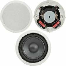 "Calidad 8 "" 160 W ceiling/roof Subwoofer speaker-dual Bobina estéreo 8ohm Bass Alta Fidelidad"