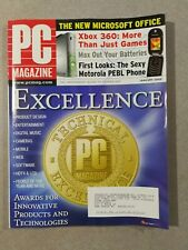 PC Magazine January 2006 - Technical Excellence Issue - Xbox 360 - Motorola PEBL
