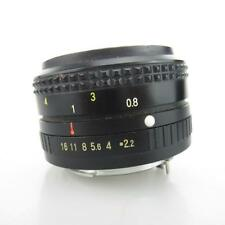 Para Pentax K Ricoh riconar 1:2 .2 f = 55mm objetivamente/lens
