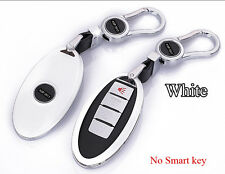 White Car FOB Remote Key Cover Protect Shell Fit for Infiniti G25G37FX37FX50EX