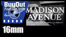Madison Avenue (1961) Film Trailer 16mm - Dana Andrews, Eleanor Parker