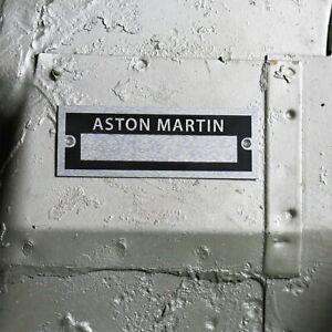 Aston Martin Identification Plate Dataplate Serial Number ID Tag DB1 Vantage 007