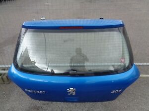 2001-2005 PEUGEOT 307 5DR REAR TAIL GATE TAILGATE IN BLUE KMFD COLLECTION!